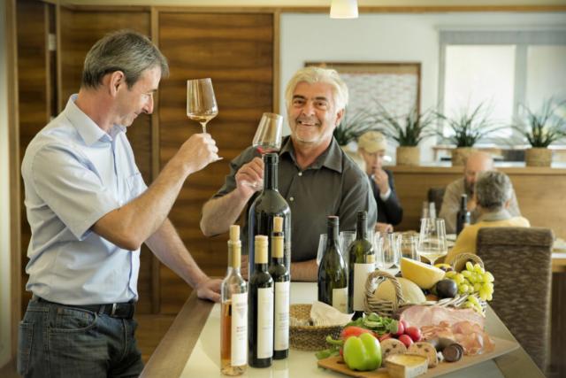 Weinverkostung bei Nittnaus