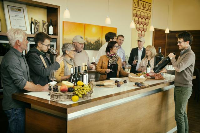 Weinverkostung Nittnaus
